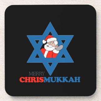 Merry Chrismukkah - Coaster