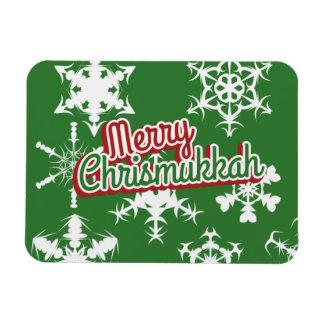 Merry Chrismukkah Flexible Magnets