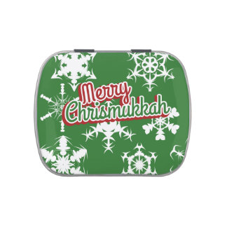 Merry Chrismukkah Jelly Belly Tin