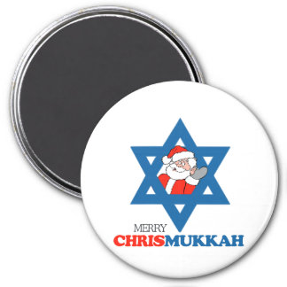 Merry Chrismukkah - Fridge Magnet