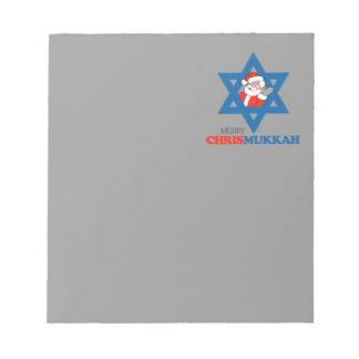 Merry Chrismukkah - Memo Note Pad