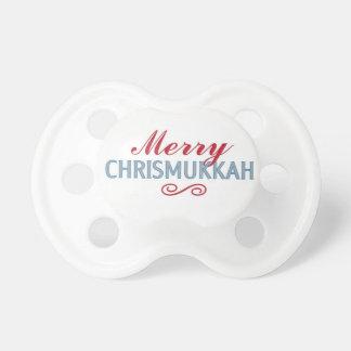 Merry Chrismukkah Pacifier