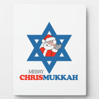 Merry Chrismukkah - Plaques