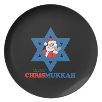 Merry Chrismukkah - Plates
