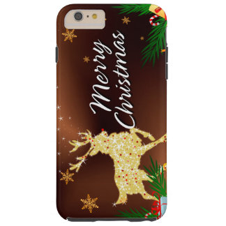 Merry Christmas 15 Tough iPhone 6 Plus Case