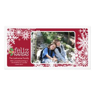 Merry Christmas - 1 photo Card