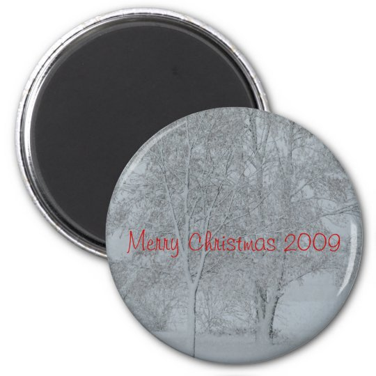 Merry Christmas 2009 Magnet