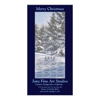 Merry Christmas 2012 Calendar Photo Card