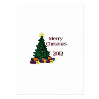 Merry Christmas 2012 Post Card