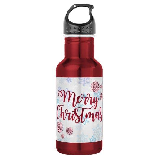 Merry Christmas 2 532 Ml Water Bottle