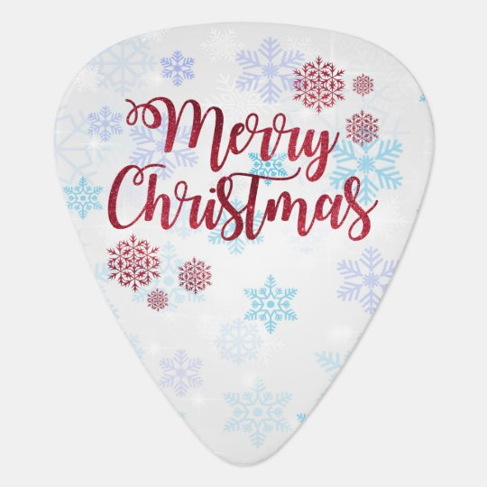 Merry Christmas 2 Guitar Pick