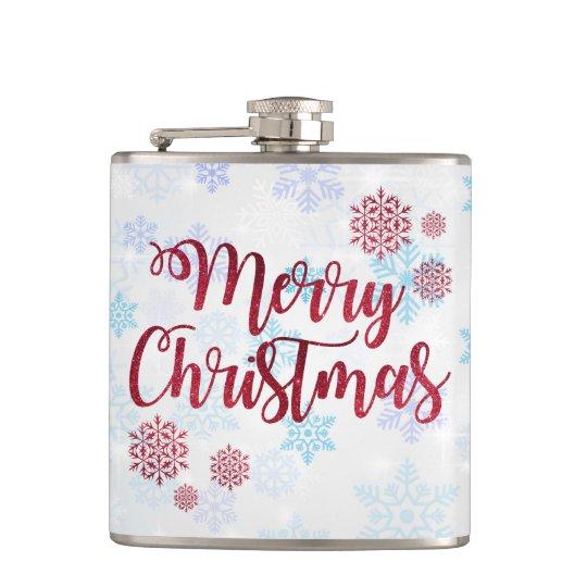 Merry Christmas 2 Hip Flask