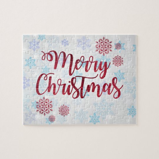 Merry Christmas 2 Jigsaw Puzzle