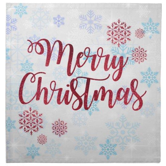 Merry Christmas 2 Napkin