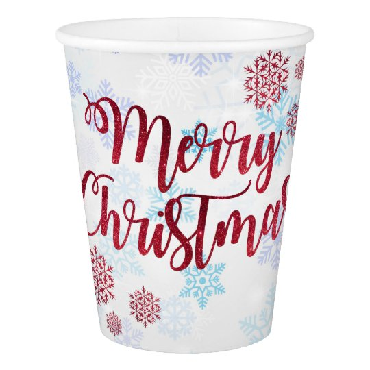 Merry Christmas 2 Paper Cup