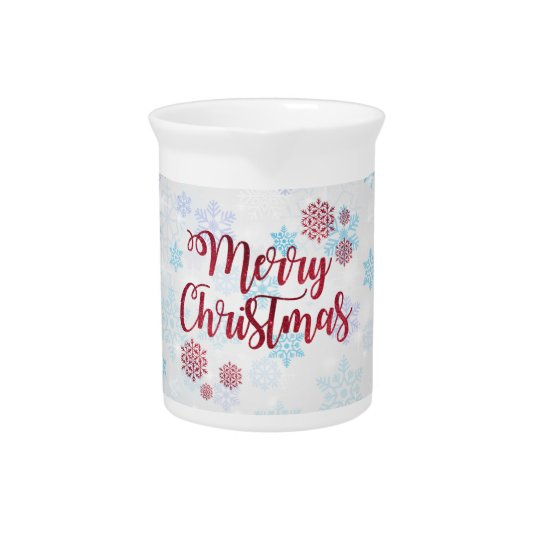 Merry Christmas 2 Pitcher