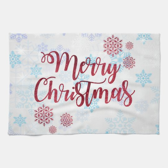 Merry Christmas 2 Tea Towel