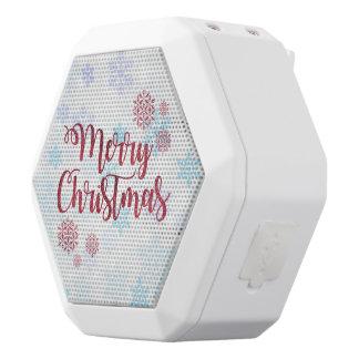 Merry Christmas 2 White Bluetooth Speaker