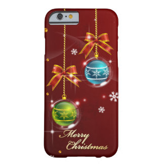 Merry Christmas 42 Barely There iPhone 6 Case