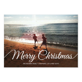 Merry Christmas | 4 photos | 7x5 Card