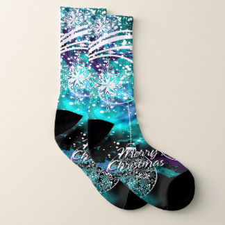 Merry Christmas 6 All-Over-Print Socks 1
