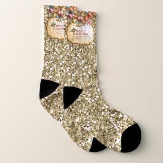 Merry Christmas 83A All-Over-Print Socks 1