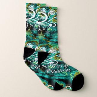 Merry Christmas 8 All-Over-Print Socks 1