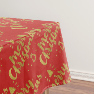 Merry Christmas   Adorable Gifts Tablecloth