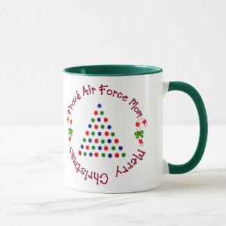 Merry Christmas (Air Force Mom) Mug