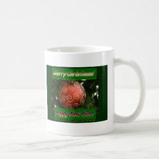 Merry Christmas & Happy New Year Coffee Mug