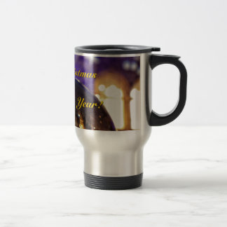 Merry Christmas and a Happy New Year 002 Travel Mug
