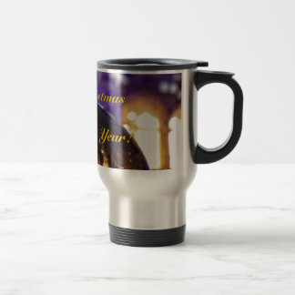 Merry Christmas and a Happy New Year 02 Travel Mug