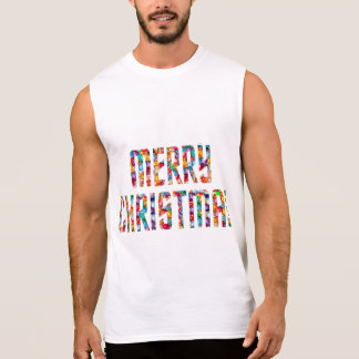 MERRY Christmas and a HAPPY NEW YEAR 2015 Sleeveless T-shirt