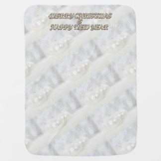 Merry Christmas and a Happy New Year Baby Blanket