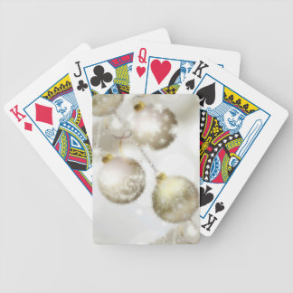 Merry Christmas and a Happy New Year Bicycle Playing Cards