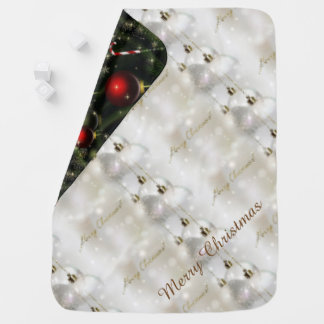 Merry Christmas and a Happy New Year Buggy Blanket