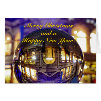 Merry Christmas and a Happy New Year Card