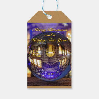 Merry Christmas and a Happy New Year Gift Tags