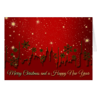 Merry Christmas and A Happy New Year Holiday Card
