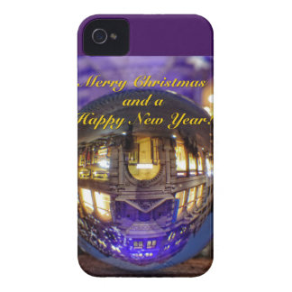 Merry Christmas and a Happy New Year iPhone 4 Case