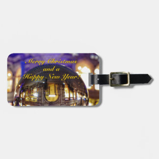Merry Christmas and a Happy New Year Luggage Tag