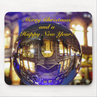 Merry Christmas and a Happy New Year Mouse Mat