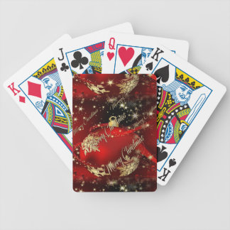 Merry Christmas and a Happy New Year Poker Deck