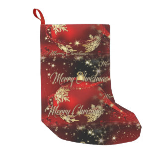 Merry Christmas and a Happy New Year Small Christmas Stocking