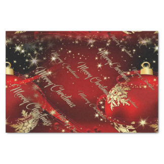 Merry Christmas and a Happy New Year Tissue Paper