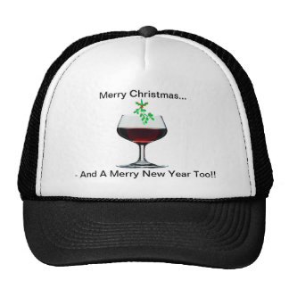 Merry Christmas - And A Merry  New Year Too!! Cap