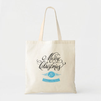 Merry Christmas and happy new to year Canvas Bags