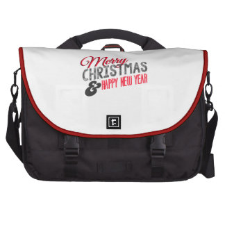 Merry Christmas and happy new to year Bag For Laptop