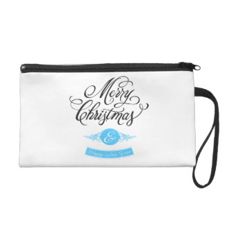 Merry Christmas and happy new to year Wristlets