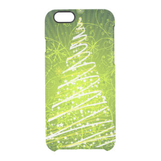 merry christmas and happy new year clear iPhone 6/6S case